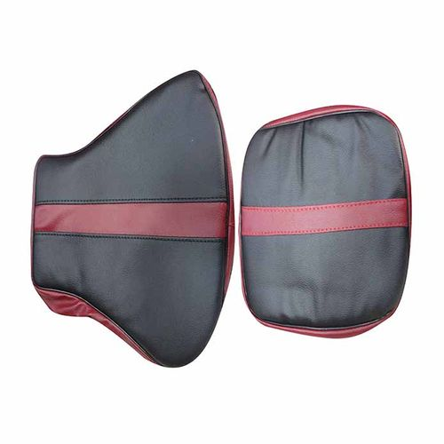 Speedy Riders Customized Stylish Dual Color  Seat Cover Maroon & Black For Royal Enfield Classic