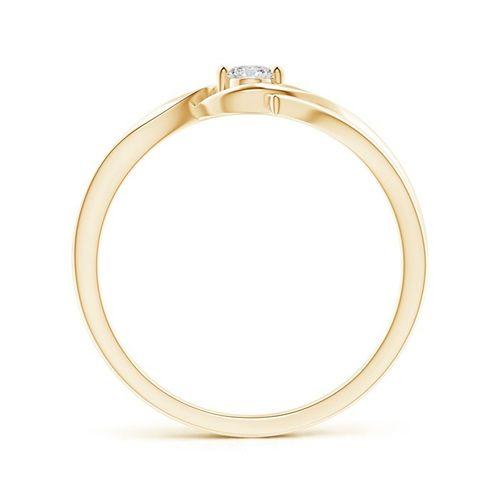 Ornaz 18Kt Yellow Gold Diamond CALESTRA Ring