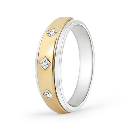 Ornaz 14Kt Yellow Gold Diamond Ernesto Men Ring