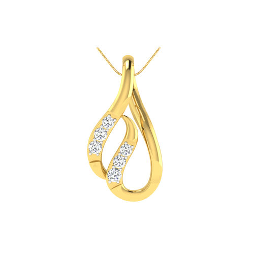 Dishi 18Kt Yellow Gold KERANI Diamond Pendant