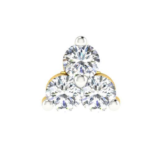Dishi 18Kt Yellow Gold YAATEE Diamond Pendant