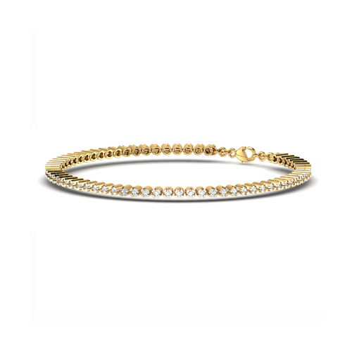 Dishi 18Kt Yellow Gold VIRONIKA Diamond Charm Bracelet