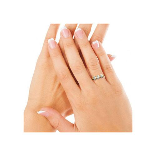 Dishi 18Kt Yellow Gold Gorgeous Aneezah Diamond Ring