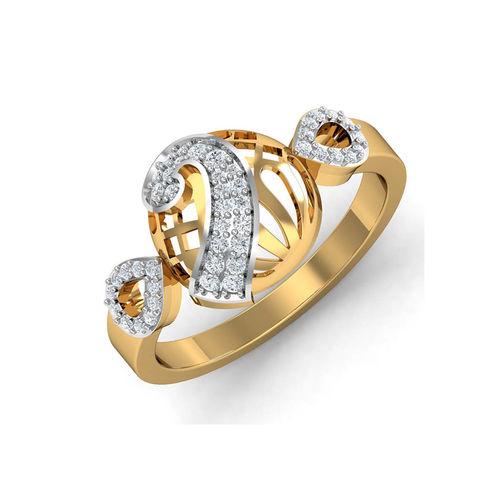 Dishi 18Kt Yellow Gold Radiant Niomi Diamond Ring