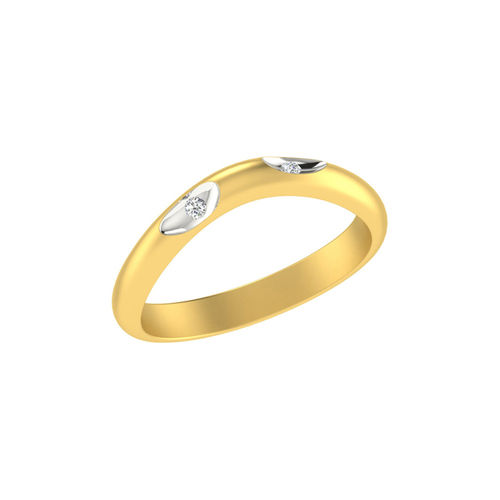 Dishi 18Kt Yellow Gold Diamond Glamorous Jaelyn Gents Ring
