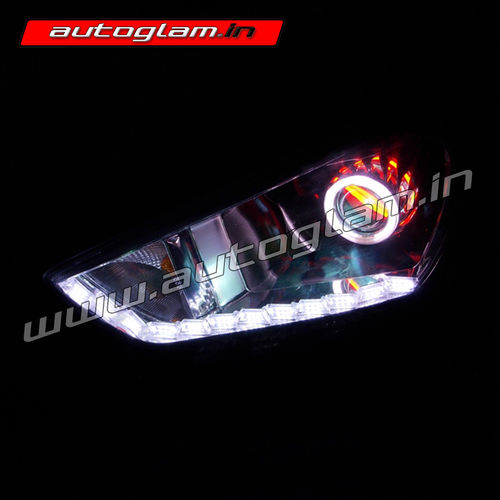 Hyundai Creta Audi Style Drl Projector Headlights