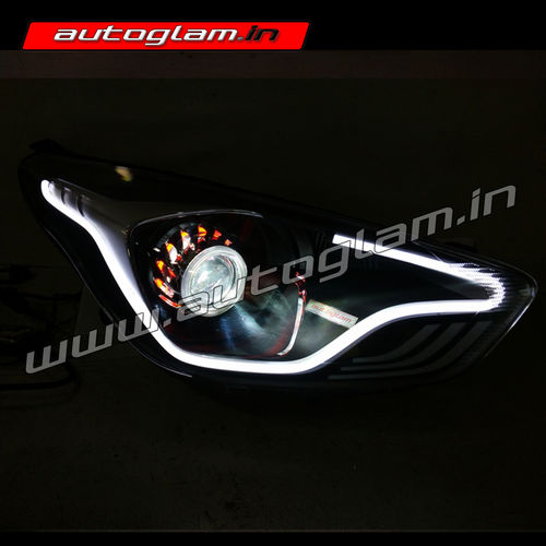 ford figo aspire projector headlight figo aspire. Black Bedroom Furniture Sets. Home Design Ideas