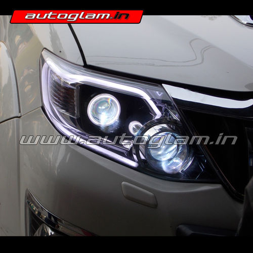 Hid Lamp For Car >> Toyota Fortuner 2012-15|Projector Headlight| Aftermarket|AGTF903-Autoglam
