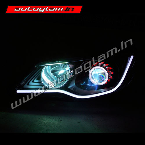 Honda Civic Merc Style Projector Headlights Hid Ag903 Autoglam
