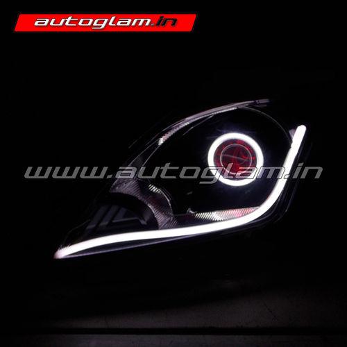 Maruti Suzuki Baleno Devil Eye Drl Hid Projector