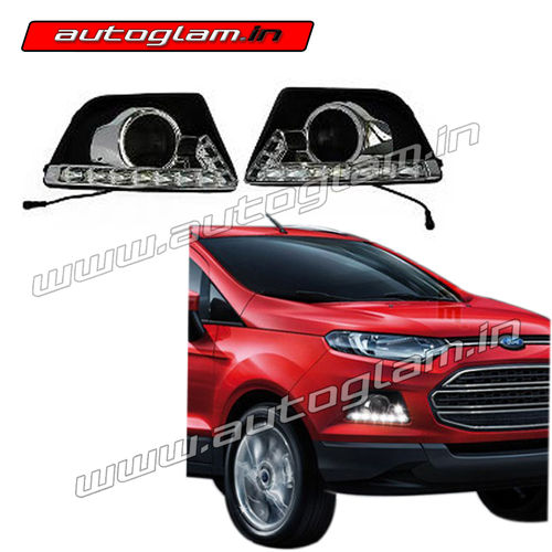 Agfed Ford Ecosport Led Drl Fog Lights Covers Autoglam