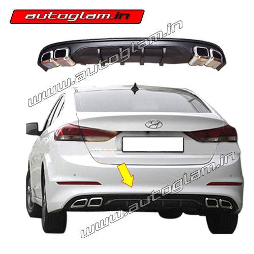 Hyundai Elantra 2017 Rear Diffuser Elantra Accessories