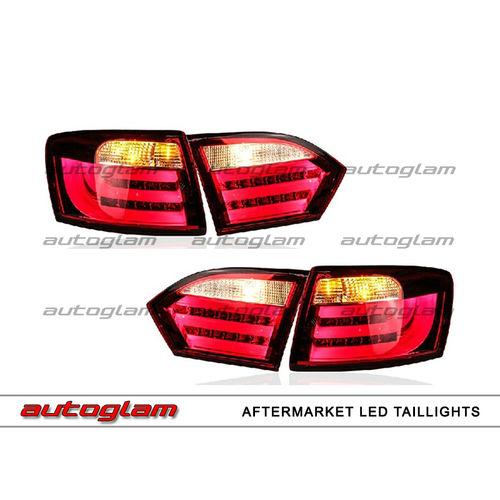 Volkswagen Jetta Bmw Style Led Tail Lights Aftermarket