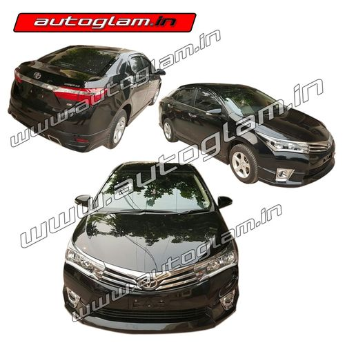 AGTCA555SS, Toyota Corolla Altis 2014 16 Models Side Skirting