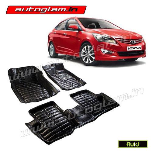 Car Mats 5d Mats Car Accessories Car Interior Verna Accessories