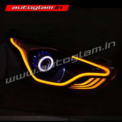 Agffa961 Ford Figo Aspire 2015 Evoque Style Xenon Projector Headlights With 55watt Hid: Ford Aspire Headlight Wiring At Mazhai.net