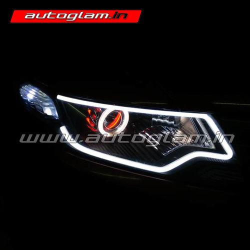 AGHC603VTEC Honda City Ivtec 2008 14 AUDI Style HID Projector Headlight