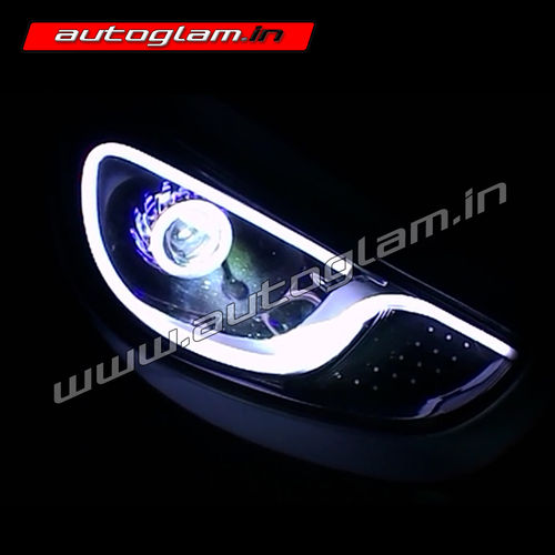 Hyundai Fludic Verna Aftermarket Projector Headlights