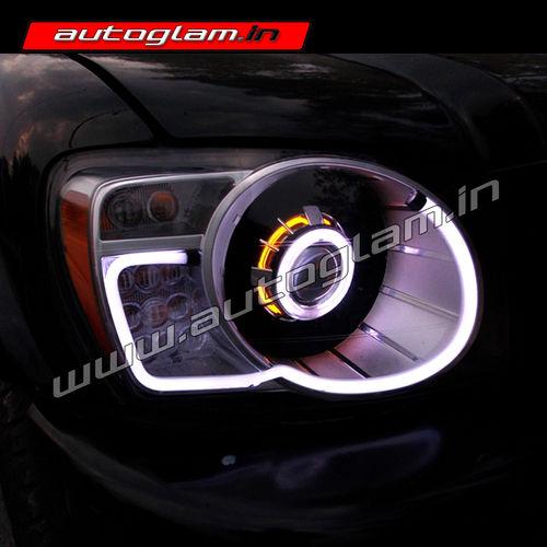 Mahindra Scorpio Audi Style Projector Headlight Agms701