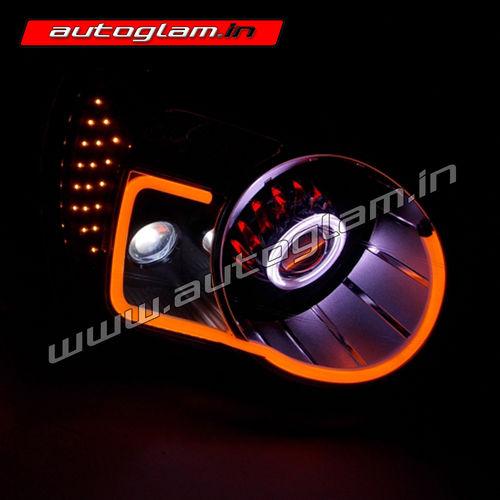 Agms703l Mahindra Scorpio Audi Style Drl Xenon Hid