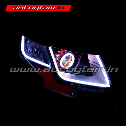 Mahindra Tuv300 Evoque Style Projector Headlight Hid