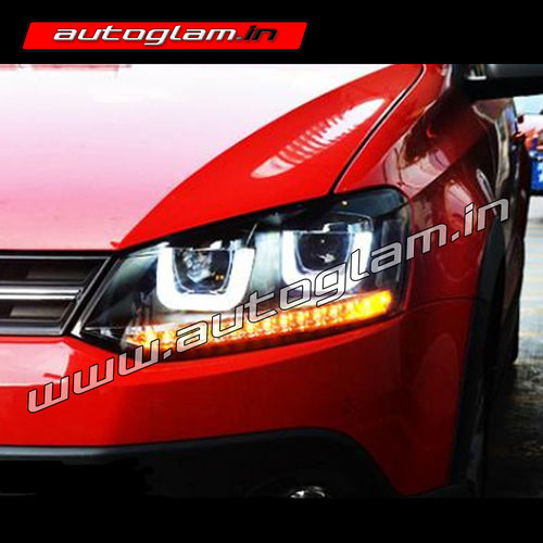 volkswagen polo projector headlight aftermarket agvwp603 autoglam. Black Bedroom Furniture Sets. Home Design Ideas