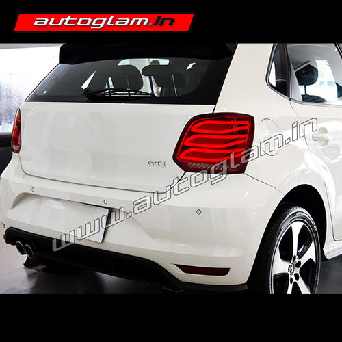 volkswagen polo 2007 17 merc style led tail lights. Black Bedroom Furniture Sets. Home Design Ideas