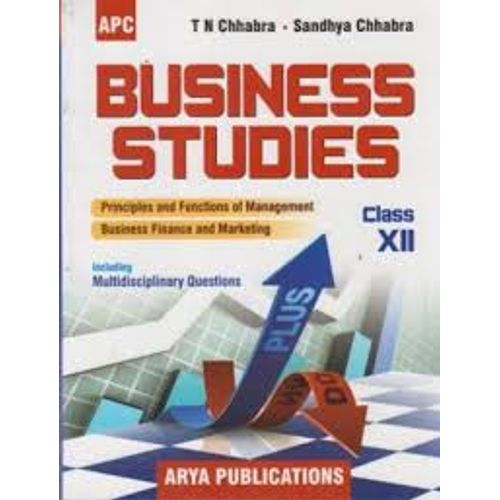 Business Studies Including Multidisciplinary Question - 12 (Arya  Publication) 2016 Edition