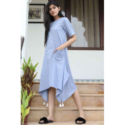 Light Blue Short Dress