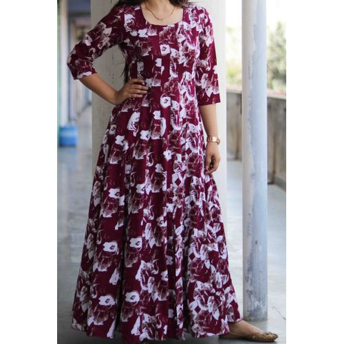 Abstract Georgette Maxi