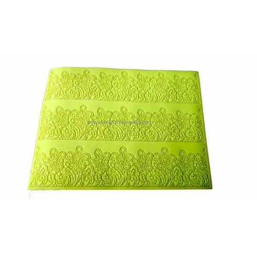 Big Green Flowers Sugar Lace Mat