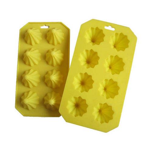 Modak shape 8 cavity mould