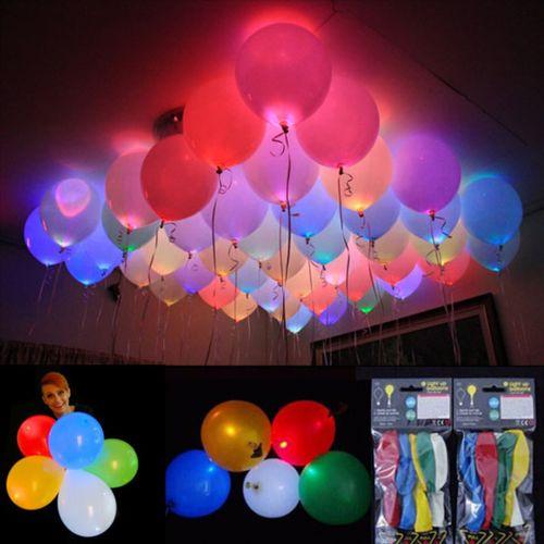 LED Balloons ( Set of 5)