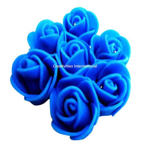 SKY BLUE FOAM FLOWERS(SMALL)