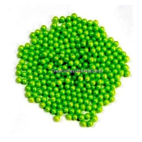 Green Metallic Sugar Balls