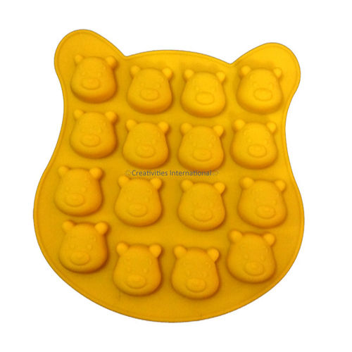 Pooh chocolate mould