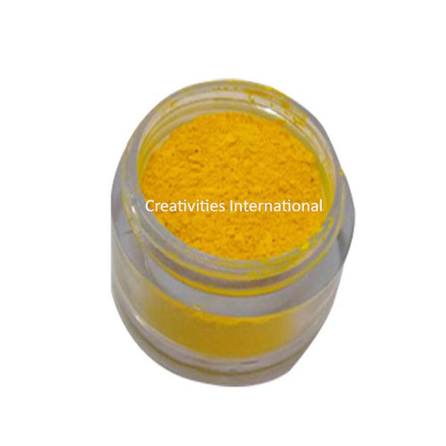 Canary Yellow Luster  Dust