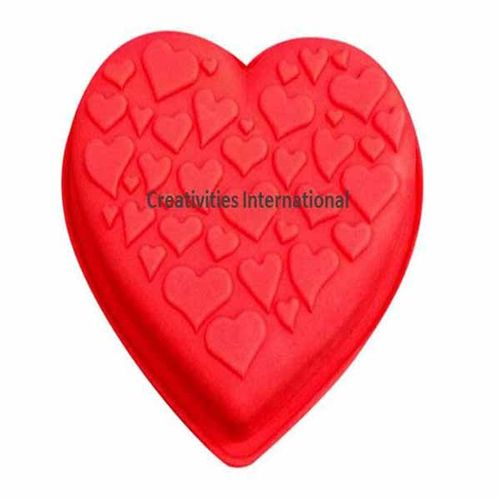 Multiheart Chocolate mould