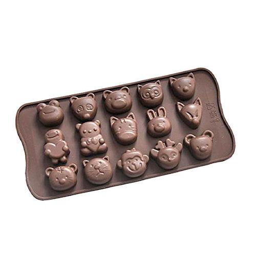 CARTOON FACE CHOCOLATE MOULD