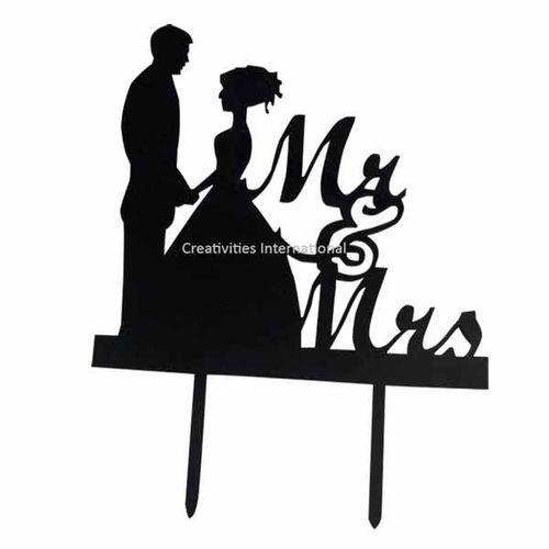 Wedding Couple Topper 11