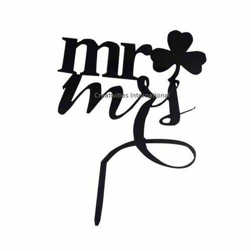Mr. & Mrs  Cake Topper 3