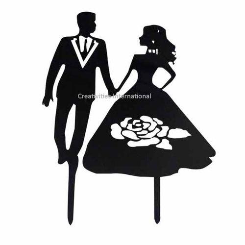 Wedding Couple Topper 15