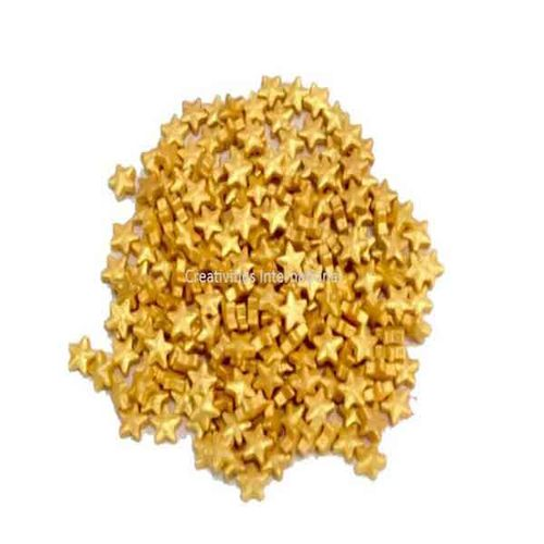 Golden Sugar Star (1cm)