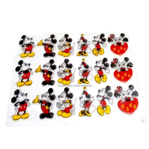 Mickey Mouse Shape 3D Mould
