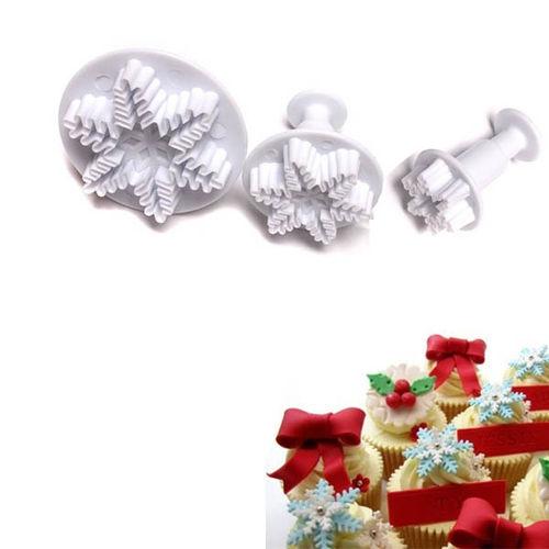 Snowflake Plunger Cutter Set