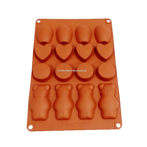 Teddy Tongue Chocolate Mould