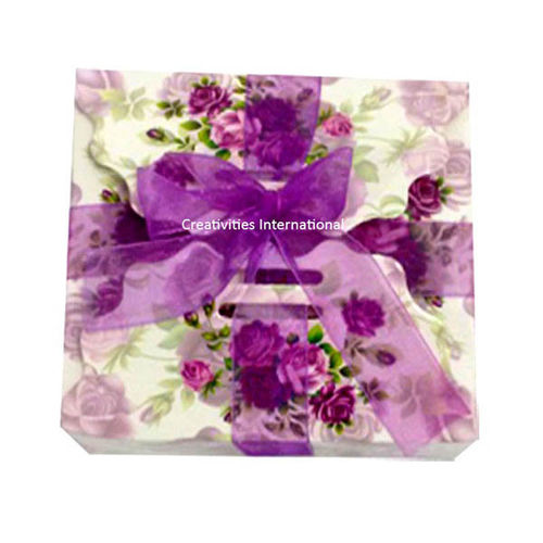 Purple Card Chocolate Box