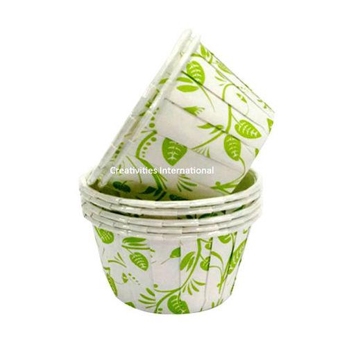 Leaf Design Cup Cake Liner (Big) - Ready To Bake