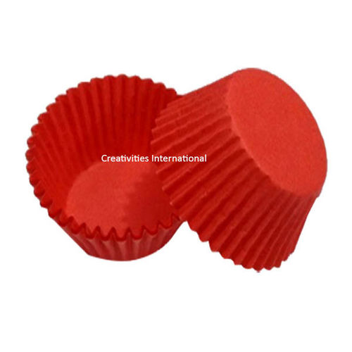 Red Color Cup Cake Liner (Big)