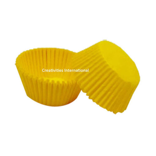 Yellow Color Cup Cake Liner (Big)